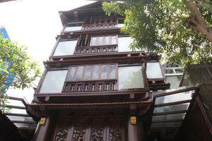 Ngôi nhà gỗ 5 tầng 30 tỷ độc nhất vô nhị Việt Nam của lão gia Hà Tĩnh