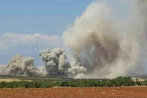 Không quân Nga tung đòn hủy diệt các kho vũ khí, căn cứ địa thánh chiến Syria ở Idlib