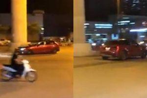 Lái xe Mazda nẹt pô đánh võng gây náo loạn đường phố Hà Nội trong đêm