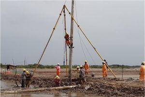 Điện lực miền Nam tăng cường đảm bảo an toàn điện mùa mưa bão