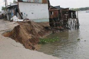 Cần Thơ: Sẽ di dời hơn 1000 hộ dân khỏi vùng có nguy cơ sạt lở