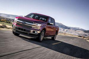 Lỗi khóa dây an toàn, Ford triệu hồi 2 triệu xe bán tải F-150