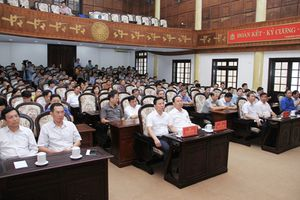 Tỉnh ủy Thanh Hóa phát động ủng hộ đồng bào các huyện bị lũ lụt