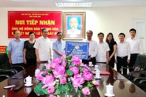 Công đoàn Ngân hàng Việt Nam ủng hộ người dân bị thiệt hại do mưa lũ