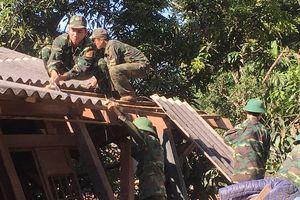Huyện Mường Lát khẩn trương khắc phục hậu quả sau cơn lũ dữ