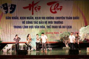 Khai mạc Hội thi sân khấu kịch ngắn, kịch vui không chuyên toàn quốc 2018