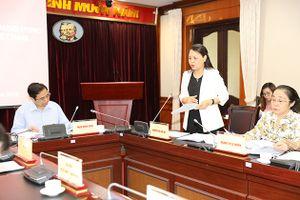 Lãnh đạo Ban Tổ chức Trung làm việc với Đảng đoàn Hội Liên hiệp Phụ nữ Việt Nam