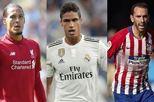 Top 10 trung vệ 'thép' trong FIFA 19: Ramos không có đối thủ
