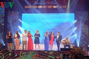 Giao lưu ca nhạc 'Nghĩa tình son sắt Việt Nam - Cuba'