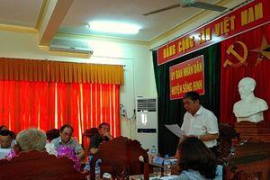Giải quyết KNĐĐ ở Phú Yên: Sao chưa theo quy định của pháp luật