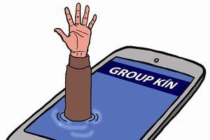 Chết chìm trong group kín