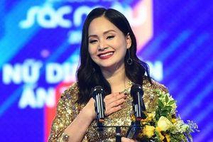 Lan Phương chia sẻ về việc thắng Nhã Phương tại giải VTV Awards