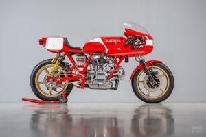 Mẫu độ Ducati 900 SS dành riêng cho giải đua Isle of Man