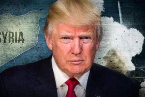 Nguy hiểm thái độ quay ngoắt 180 độ của Trump đối với Syria