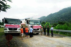 Thanh Hóa: Xăng dầu tiếp tế đã đến huyện Mường Lát