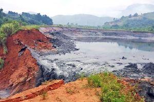 Vỡ bờ hồ chứa nước thải, gần 50 hộ dân ở Lào Cai phải sơ tán