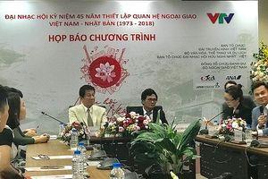 Mỹ Linh, Đông Nhi, Trọng Hiếu góp mặt trong Nhạc hội Việt Nhật