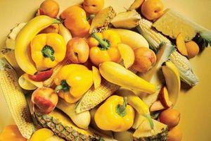 Tiêu thụ trái cây và rau quả màu cam và màu vàng mang lại lợi ích gì cho sức khỏe?