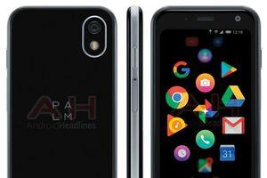 Những hình ảnh đầu tiên về giao diện Android trên smartphone Palm