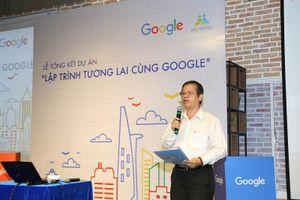 Hơn 1.300 học sinh tiểu học với 800 sản phẩm lập trình tại lễ tổng kết Lập trình Tương lai cùng Google