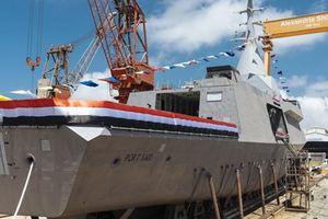 Quân đội Ai Cập hạ thủy tàu hộ tống lớp Gowind đầu tiên tự chế