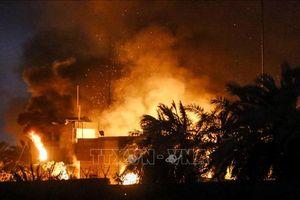 Iran triệu Đại sứ Iraq để 'trao đổi về vụ đốt lãnh sự quán ở Iraq'