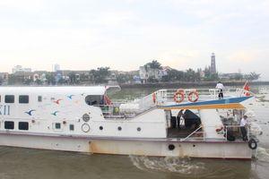 Hành khách rơi xuống biển trên tàu cao tốc Superdong