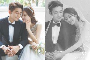 Diễn viên 'Thế giới hợp nhất' Kim Jin Woo kết hôn với 'mỹ nhân' tiếp viên hàng không - Cô dâu gây 'sốt' vì quá xinh