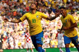 Chơi tệ ở World Cup, Neymar vẫn nhận băng thủ quân của ĐT Brazil