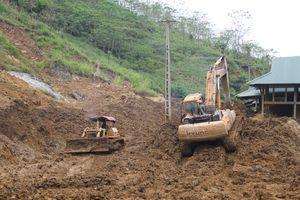 Nỗ lực để thông xe bước 1 tuyến Quốc lộ 15C đi huyện Mường Lát