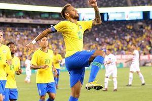 Toàn cảnh ĐT Mỹ 0-2 Brazil: Neymar và Firmino cùng lập công