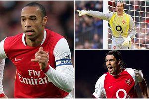 Ozil chọn ra 5 cầu thủ vĩ đại nhất lịch sử Arsenal