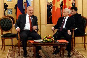 Tổng Bí thư tiếp Chủ tịch Đảng cộng sản Liên bang Nga Zyuganov