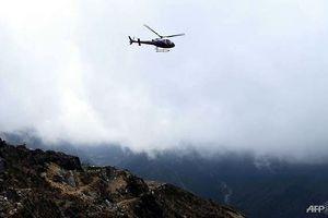 Rơi trực thăng ở Nepal khiến 6 người thiệt mạng