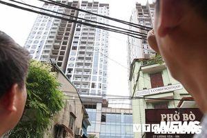 Thông tin nhà cao tầng bị nghiêng ở Hà Nội sau dư chấn: Chủ tịch quận Hai Bà Trưng lên tiếng