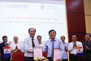 LienVietPostBank tham gia xây dựng Chính quyền điện tử, thành phố thông minh tỉnh Bắc Ninh