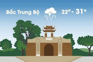 Thời tiết ngày 9/9: Bắc Trung Bộ mưa rất lớn vì gió mùa Đông Bắc