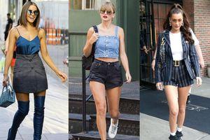Ngắm street style đa dạng của dàn mỹ nhân Hollywood tuần qua