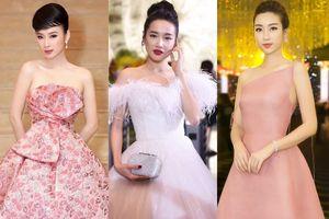 Nhã Phương, Angela Phương Trinh mặc nữ tính tuần qua