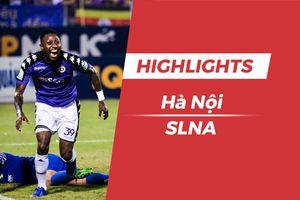 Highlights CLB Hà Nội 2-0 SLNA: Samson lập cú đúp