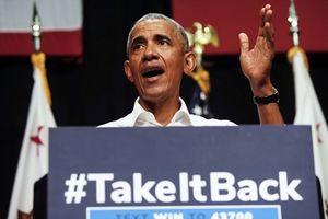 Ông Obama 'nổ phát súng đầu tiên' sau khi quay lại chính trường