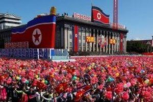 Triều Tiên tổ chức duyệt binh nhân dịp kỷ niệm 70 năm Ngày Quốc Khánh
