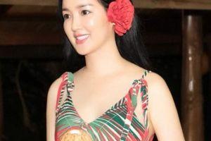 Hoa hậu Đền Hùng Giáng My gây sốt với chùm ảnh hóa tuổi 18