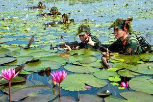 Mục kích Lục quân Việt Nam rèn quân mùa nước nổi