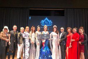 Hoàng Y Nhung đăng quang Hoa hậu Sắc đẹp toàn cầu 2018