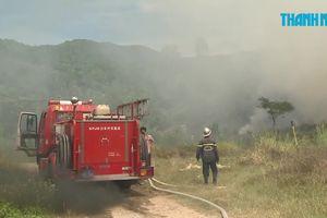 Gom cây khô để đốt, cháy gần 1.000 mét vuông trên bán đảo Sơn Trà