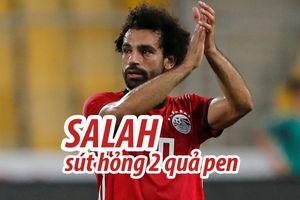 Salah 2 lần không thắng thủ môn trên chấm phạt đền