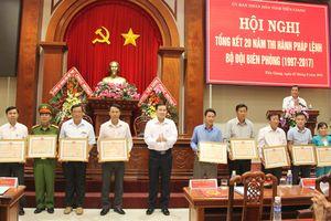 Xây dựng BĐBP Tiền Giang vững mạnh, biên giới ổn định, phát triển