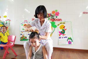 Nhà giáo ưu tú Trần Thị Kim Vi yêu nghề, mến trẻ