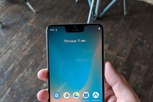 Ảnh Pixel 3 XL với màn hình tai thỏ chỉ là một trò đùa của Google?
